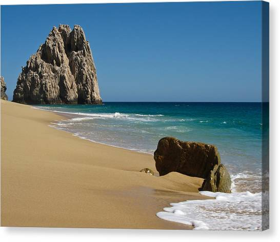 Cabo San Lucas Beach 1 Canvas Print