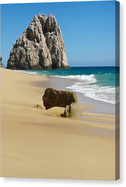 Cabo San Lucas Beach 2 Canvas Print