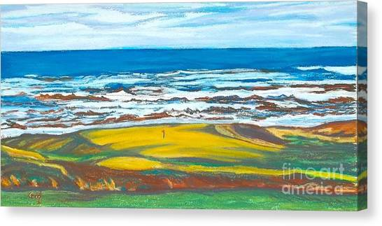 Cabot Links # 14 Canvas Print by Frank Giordano