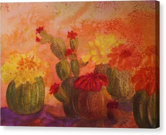 Cactus Garden Canvas Print