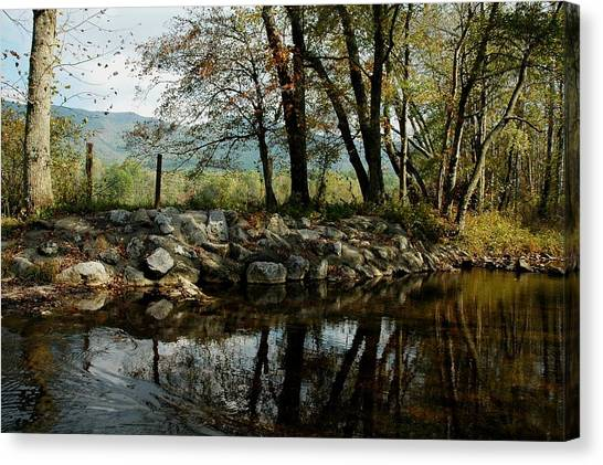 Cades Cove Summertime Canvas Print by John Saunders