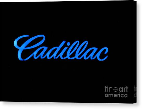 Cadillac Canvas Print by Andres LaBrada