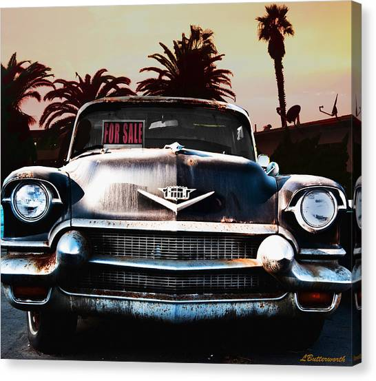 Cadillac Blues Canvas Print by Larry Butterworth