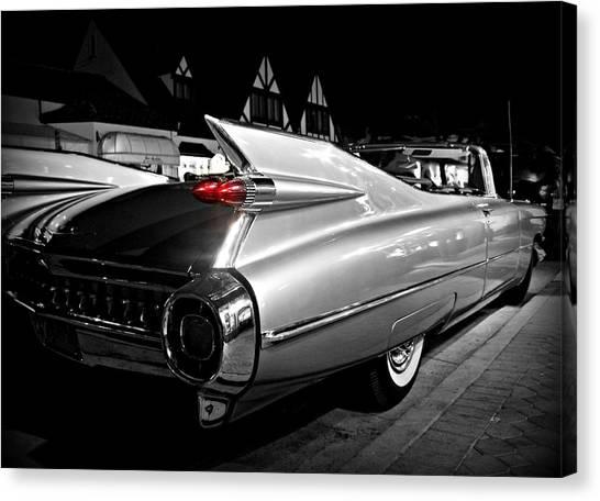 Cadillac Noir Canvas Print
