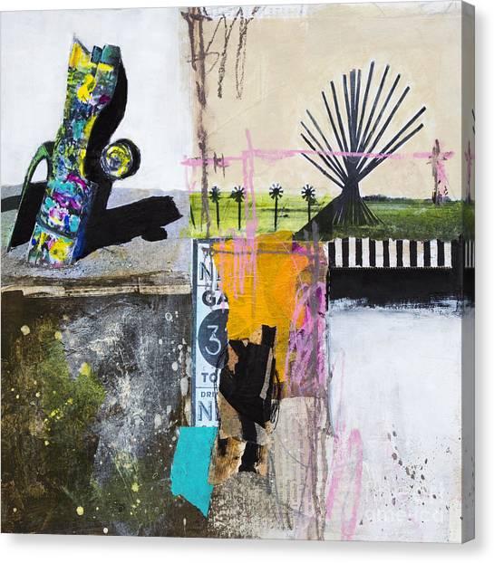 Installation Art Canvas Print - Cadillac Ranch by Elena Nosyreva