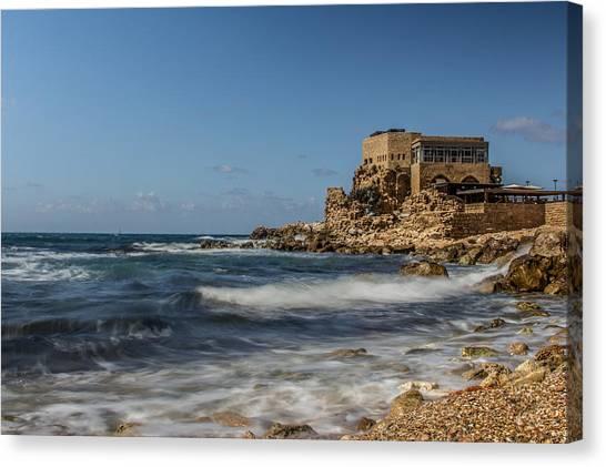 Caesarea Maritima Canvas Print