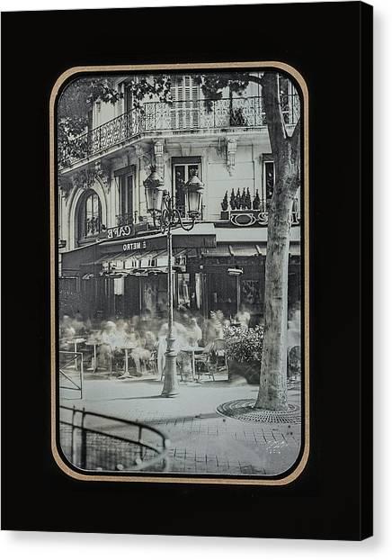 Cafe Le Metro - Paris Canvas Print