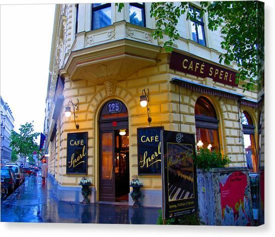Cafe Sperl Vienna Canvas Print