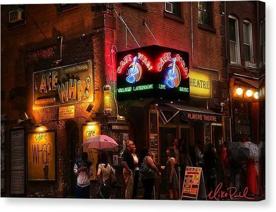 Ireland Canvas Print - Cafe Wha by Irish Mike