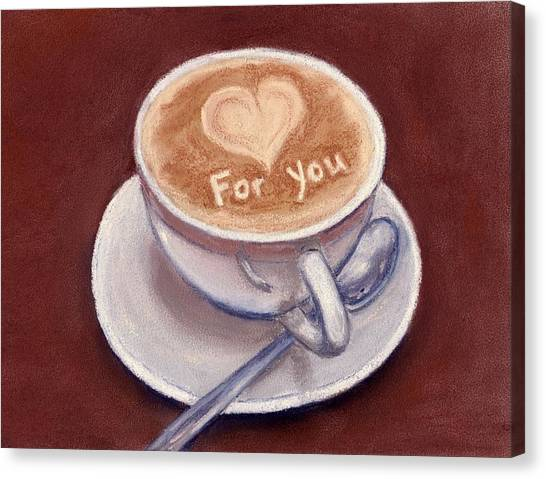 Caffe Latte Canvas Print