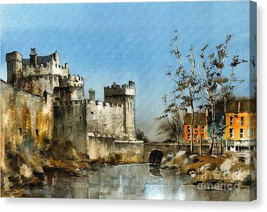 Cahir Castle  Tipperary Canvas Print