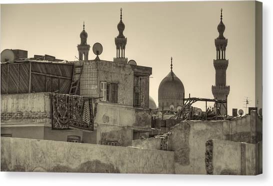 Cairo Skyline II Canvas Print
