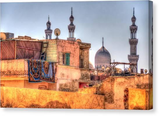 Cairo Skyline Canvas Print