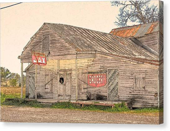 Cajun Art Canvas Print