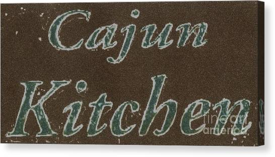 Cajun Kitchen Canvas Print