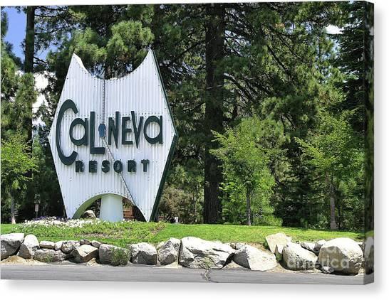 Cal Neva Resort - Lake Tahoe Canvas Print