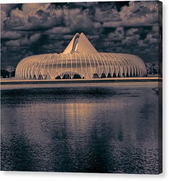 University Of South Florida Canvas Print - Calatrava 5 by Gordon Engebretson