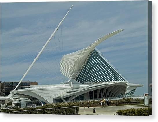 Calatrava Milwaukee Canvas Print by Devinder Sangha
