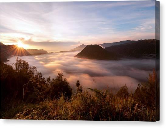 Caldera Sunrise Canvas Print