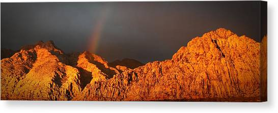 Calico Rainbow Canvas Print