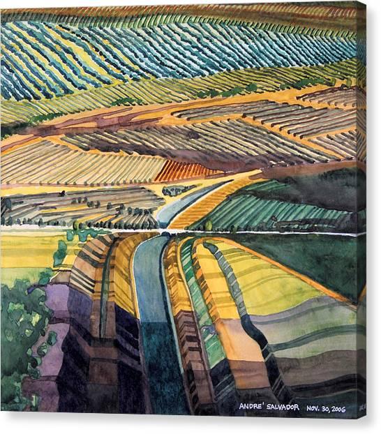 California Aqueduct Canvas Print