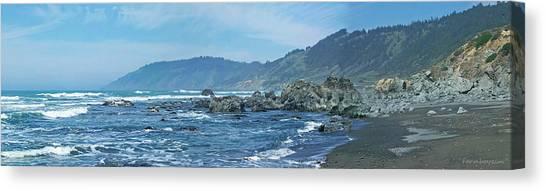 California Beaches 3 Canvas Print