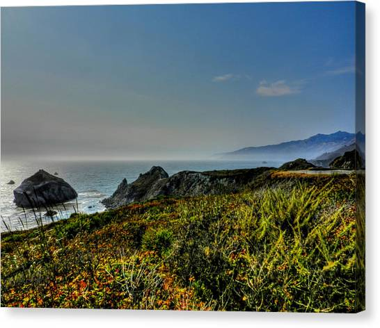 Big South Canvas Print - California - Big Sur 003 by Lance Vaughn