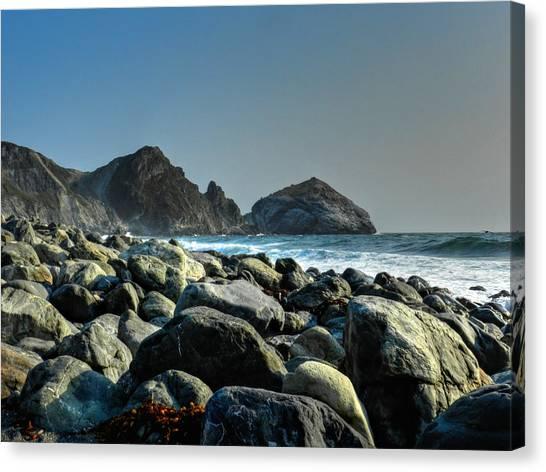 Big South Canvas Print - California - Big Sur 012 by Lance Vaughn