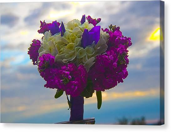 California Bouquet Canvas Print