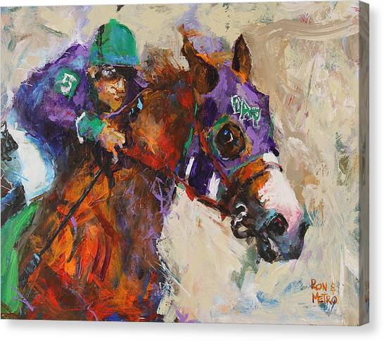 Kentucky Canvas Print - California Chrome by Ron Krajewski