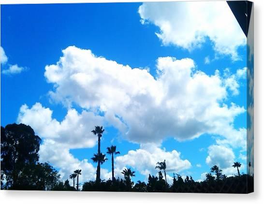 California Clouds Canvas Print by Susan Mumma