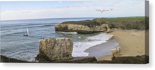 California Cove Canvas Print
