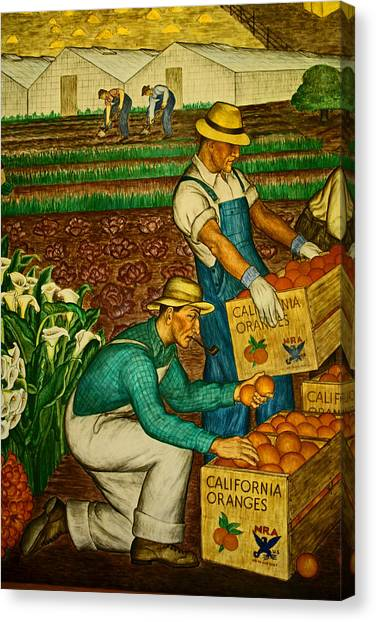 California Farmers Canvas Print
