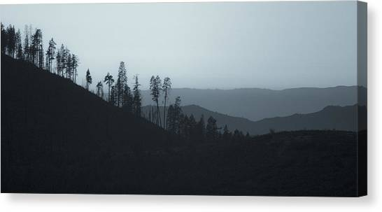 California Gray Skies Canvas Print