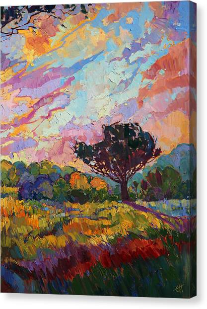 California Sky Quadtych - Lower Right Panel Canvas Print