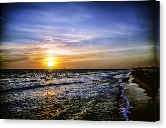 California Sunset Canvas Print