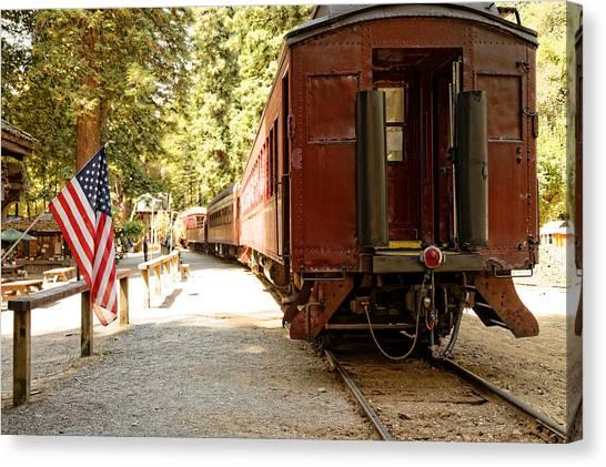 California Western Railroad Canvas Print