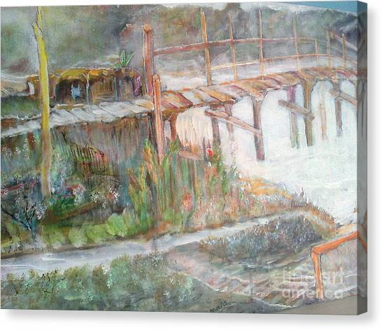 Call Of The Bridge Canvas Print