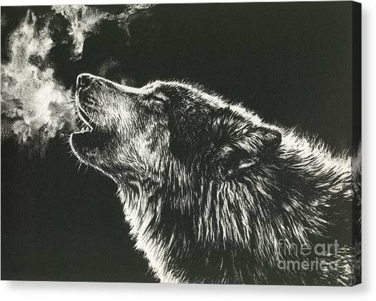 Call Of The Wild Canvas Print by Beth Hoselton