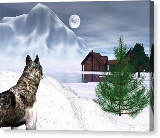 Call Of The Wild Canvas Print by Michele Wilson