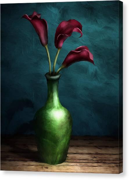 Calla Lilies I Canvas Print