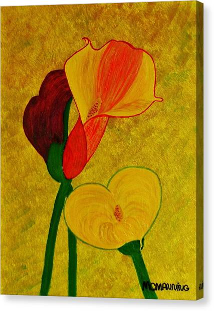 Calla Lilly Canvas Print