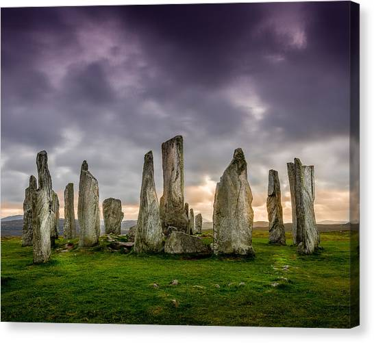 Callanish Stones Canvas Print