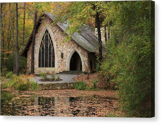 Callaway Chapel Canvas Print