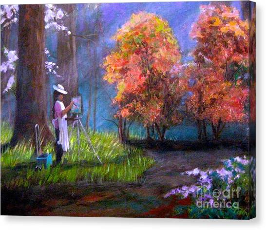 Callaway Garden Artist Canvas Print