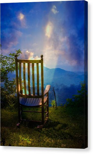 Blue Ridge Parkway Canvas Print - Just Imagine by John Haldane
