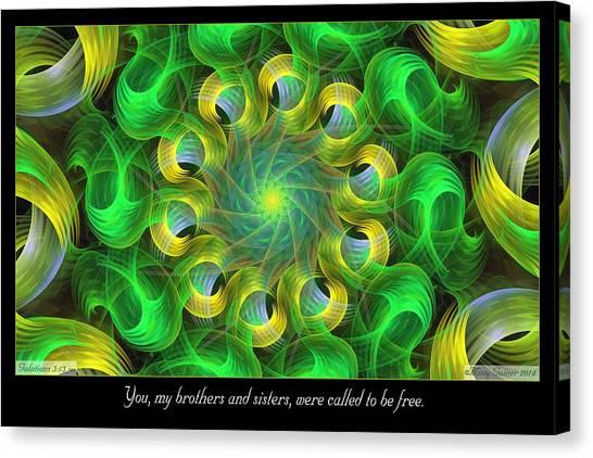 Called To Be Free Canvas Print