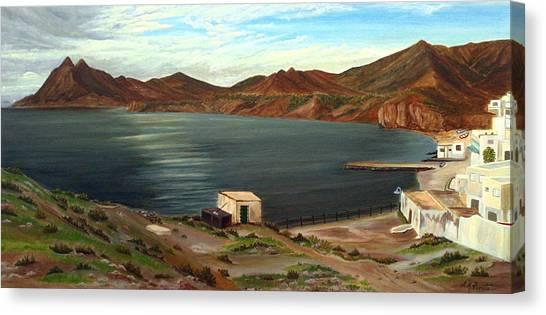 Calm Bay Canvas Print