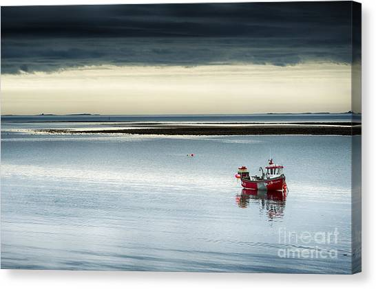 Rainclouds Canvas Print - Calm Before The Storm  by Tim Gainey