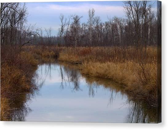 Calm Reflections Canvas Print by Rhonda Humphreys